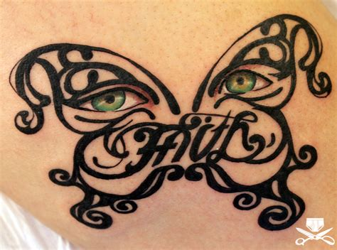 tattoo butterfly eyes tribal butterfly with realistic eyes tattoo hautedraws