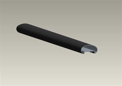 handlauf f r glasgel nder neues modell aluminium glasgel 228 nderpfosten mit handlauf