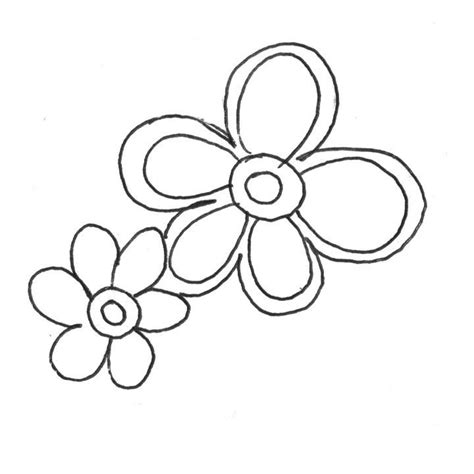 flower print out coloring home