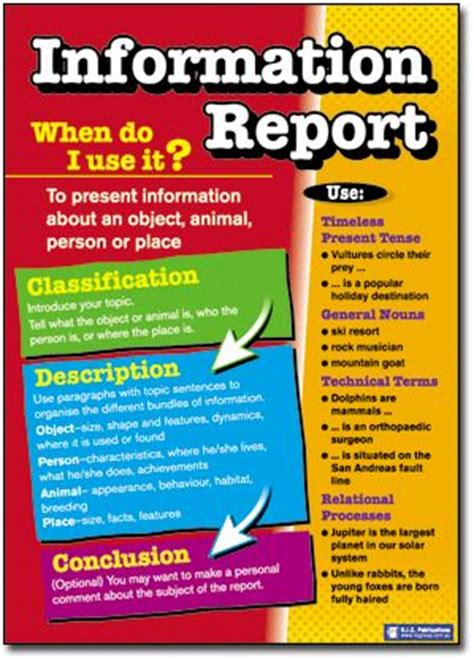 Information Report Text Type Template 17 Best Images About Text Types On
