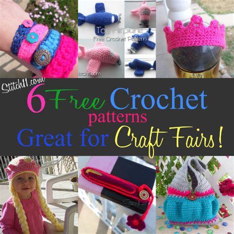 free craft projects craft fair crochet patterns stitch11