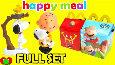 2015 mcdonalds happy meal toys peanuts with snoop