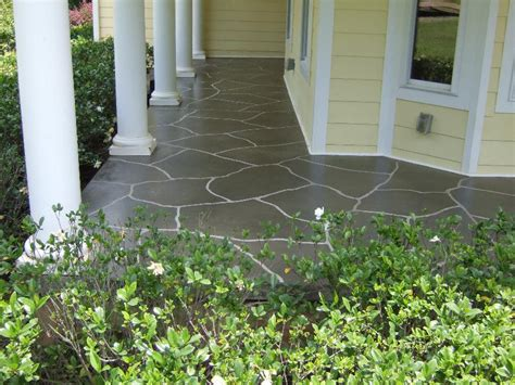 Front Porch Concrete Ideas southern concrete designs llc photo gallery 1