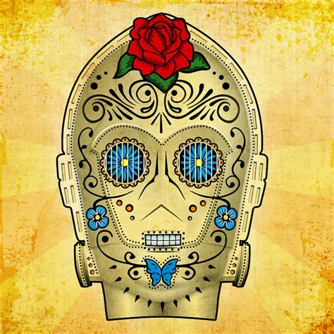 Star Wars Day of the Dead Art Prints   HiConsumption