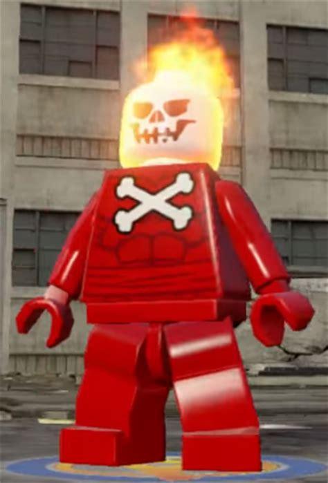 lego kw blazing skull marvel superheroes minifigure blazing skull lego marvel and dc superheroes wiki