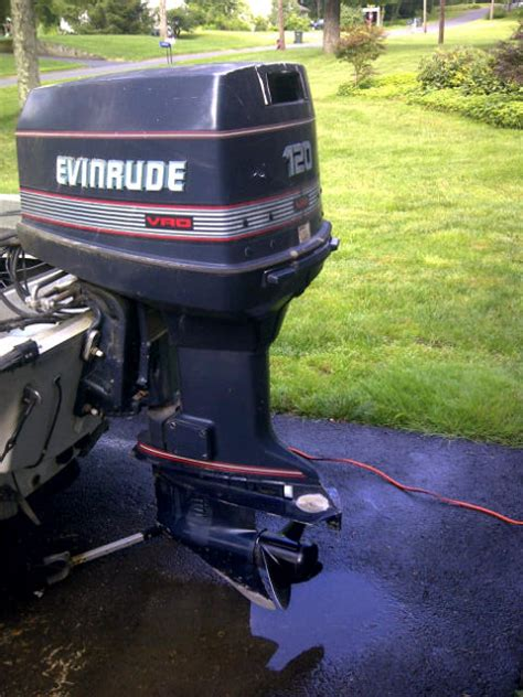 boats for sale east hton ct 1989 evinrode vro 120 hp the hull truth boating and