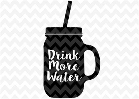 more clipart drink more water svg water clip coffee cup png cameo