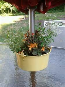 Patio Table Flower Pots The World S Catalog Of Ideas
