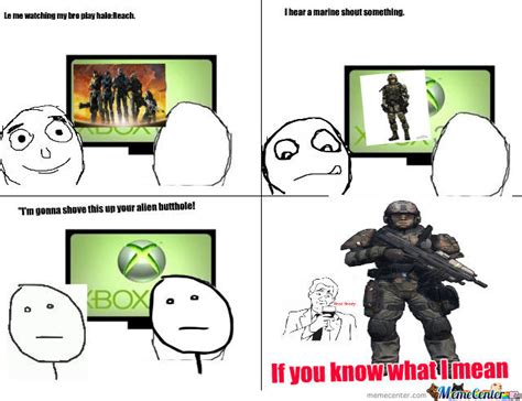 Halo Reach Memes - halo reach if you know what i mean by baconman meme center