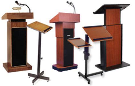 used church podiums