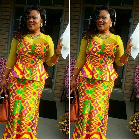 fashion styles for slite and kaba kante kaba and slit african wear from ghana african best