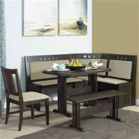 kitchen nook table powell walton kitchen nook and chair modern dining tables by hayneedle