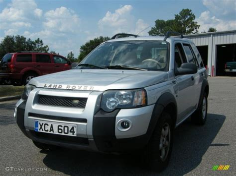 land rover freelander interior 2004 land rover freelander silver 200 interior and