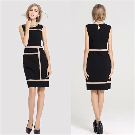 Design Dress Office | fashion womens slimming design office work dress