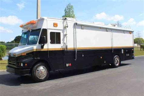 Ford Synus Mobile Command Center by International Truck Built By Lti 1000gpm Pumper
