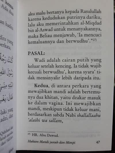 Wahai Adik Adik Cintailah Allah Ta Ala buku saku fiqih mandi junub toko muslim title