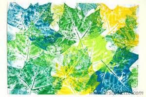 Thanksgiving Crafts For Toddler Leaf Prints Craft Kids Crafts Firstpalette Com