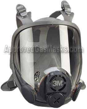 3m 6000 gas mask and filter from approved gas masks 6700