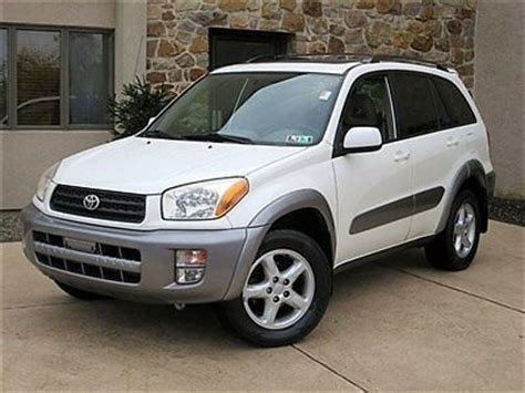 find used 2001 toyota rav4 4wd automatic, sunroof in west