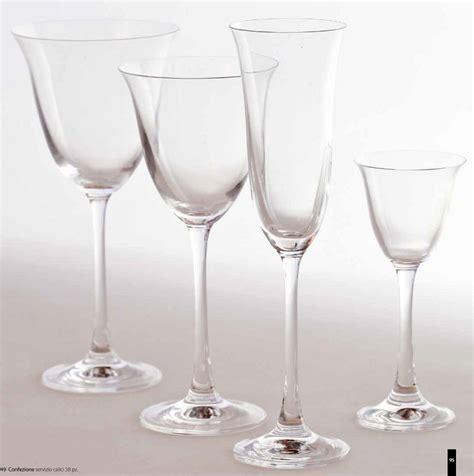 bicchieri cristallo di boemia prezzi fade servizio completo bicchieri 50 pz calici cristallo