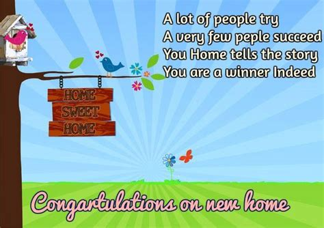 congratulations new home messages www pixshark
