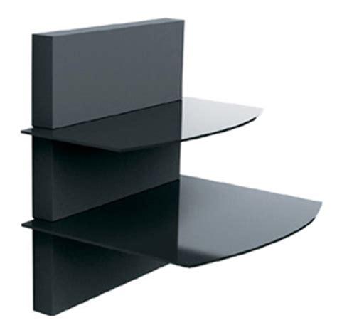 Dvd Floating Shelf by Dvd Shelf Sky Box Shelf Floating Glass Shelf