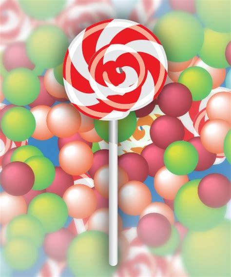 Vector Lollipop Tutorial | how to create sweet lollipop vector in illustrator