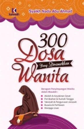 Buku 8 Dosa Berat 300 dosa yang diremehkan wanita hc zamzam