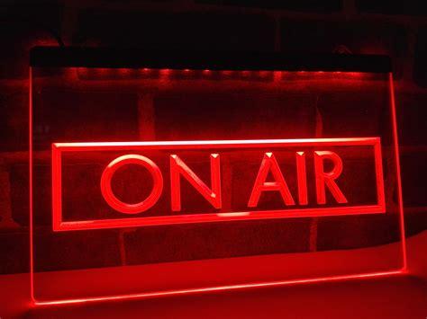 on air sign light lb480 on air recording studio new nr led neon light sign