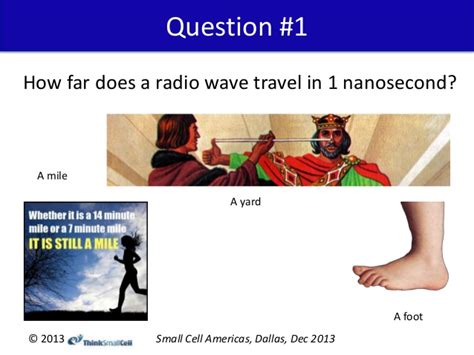 How Far Does Light Travel In A Second by Small Cell Timing And Sync Presentation Sca 2013