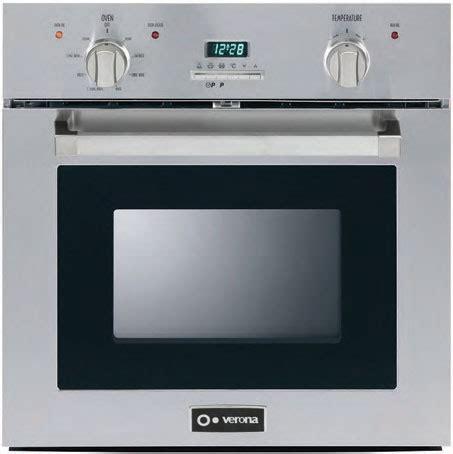 Oven Verona 24 quot gas wall oven verona appliances