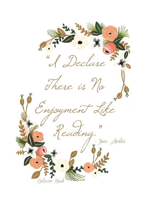 Wedding Enjoyment Quotes by Free Printable Austen Quote Quot I Delcare There Is No