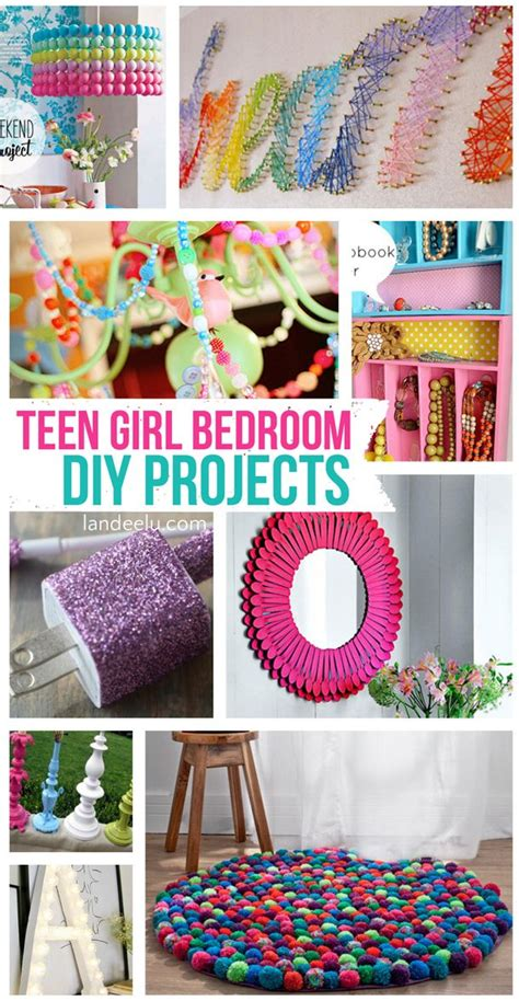 easy diy projects for bedroom teen girl bedroom diy projects them girls and teenagers