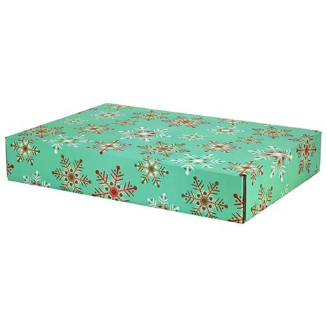 Decorative Shipping Boxes by Large Snowflakes Decorative Shipping Boxes 48 Pack