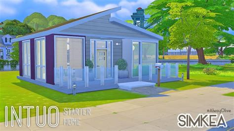 Kitchen Layouts intuo starter home at simkea 187 sims 4 updates