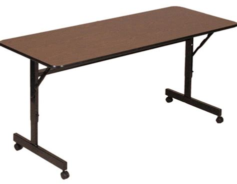 24 x 60 table econoline flip top tables 24 quot x 48 quot flip top table