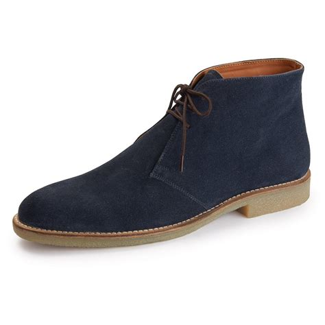 Handmade Chukka Boots - handmade mens chukka suede leather boots mens fashion