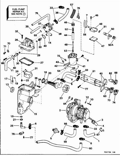 johnson outboard parts diagram johnson outboard manual for service and repair of your