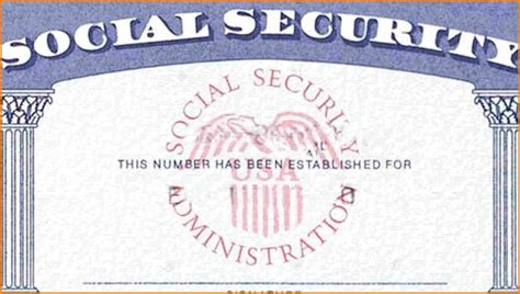 Blank Social Security Card Template Download Aesthetecurator Com Blank Social Security Card Template