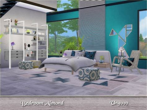 sims bedroom the sims resource bedroom almond by ung999 sims 4 downloads