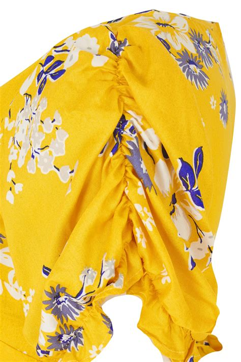 yellow light delivery service yours yellow floral tea dress plus size 16 to 32