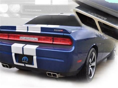 challenger mopar performance cat back exhaust system
