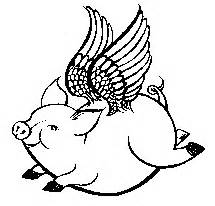 Drawing Flying Pig - ClipArt Best Flying Pig Drawing