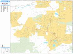 thousand oaks zip code map thousand oaks california wall map basic style by marketmaps