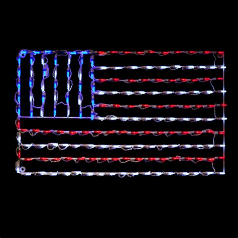 led american flag outdoor light displays at hayneedle