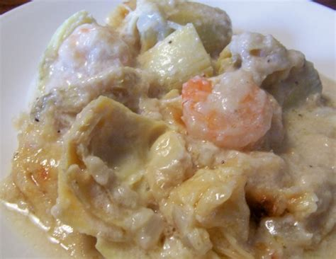 shrimp and artichoke casserole shrimp and artichoke casserole recipe food com