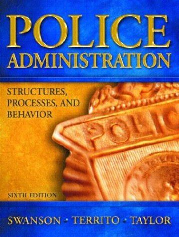 policing books administration structures processes and behavior