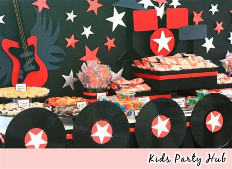 rock and roll theme decorations rock and roll ideas adults hub