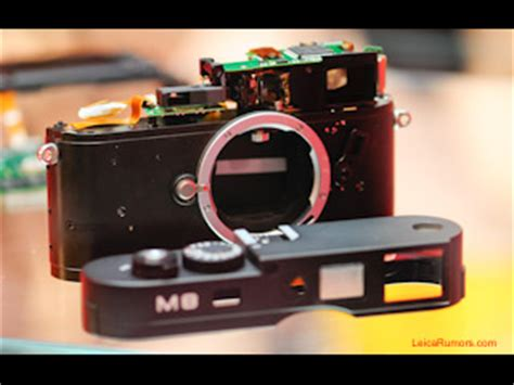 leica m8 firmware being tested | leica rumors
