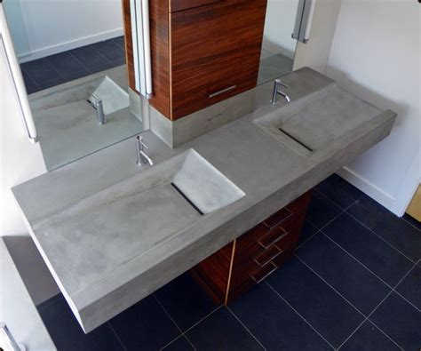 how to make a concrete sink for bathroom master bathroom concrete sink 171 concrete pete